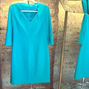 Elie TAHARI green dress SZ 12